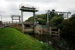 UK ENGLAND CAMBRIDGESHIRE 7AUG06 - Upware Lock near the Wicken National Nature Reserve in Cambridgeshire. Managed by the National Trust, Wicken Fen is one of Britain's oldest nature reserves dating back to the late 1800s....jre/Photo by Jiri Rezac..© Jiri Rezac 2006..Contact: +44 (0) 7050 110 417.Mobile:  +44 (0) 7801 337 683.Office:  +44 (0) 20 8968 9635..Email:   jiri@jirirezac.com.Web:    www.jirirezac.com..© All images Jiri Rezac 2006 - All rights reserved.