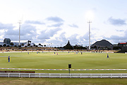 General view of Bay Oval during the T20 Super Smash cricket game, Knights v Volts played at Bay Oval, Mount Maunganui, New Zealand on Saturday 9 February 2019.<br /> <br /> Copyright photo: © Bruce Lim / www.photosport.nz