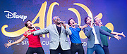 West End Live 2018 <br /> Trafalgar Square, London, Great Britain <br /> 16th June 2018 <br /> <br /> Excerpts from West End musicals perform live on stage in Trafalgar Square, London <br /> <br /> Aladdin <br /> <br /> Photograph by Elliott Franks