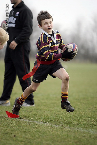 Saracens Masterclass at Old Albanians RFC. 20-2-09..Under 6, 7 and 8s.