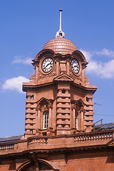 Shipstones clock tower in Nottingham,