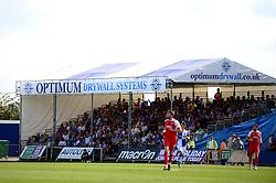 Optimum Drywall systems  - Mandatory by-line: Dougie Allward/JMP - 26/08/2017 - FOOTBALL - Memorial Stadium - Bristol, England - Bristol Rovers v Fleetwood Town - Sky Bet League One