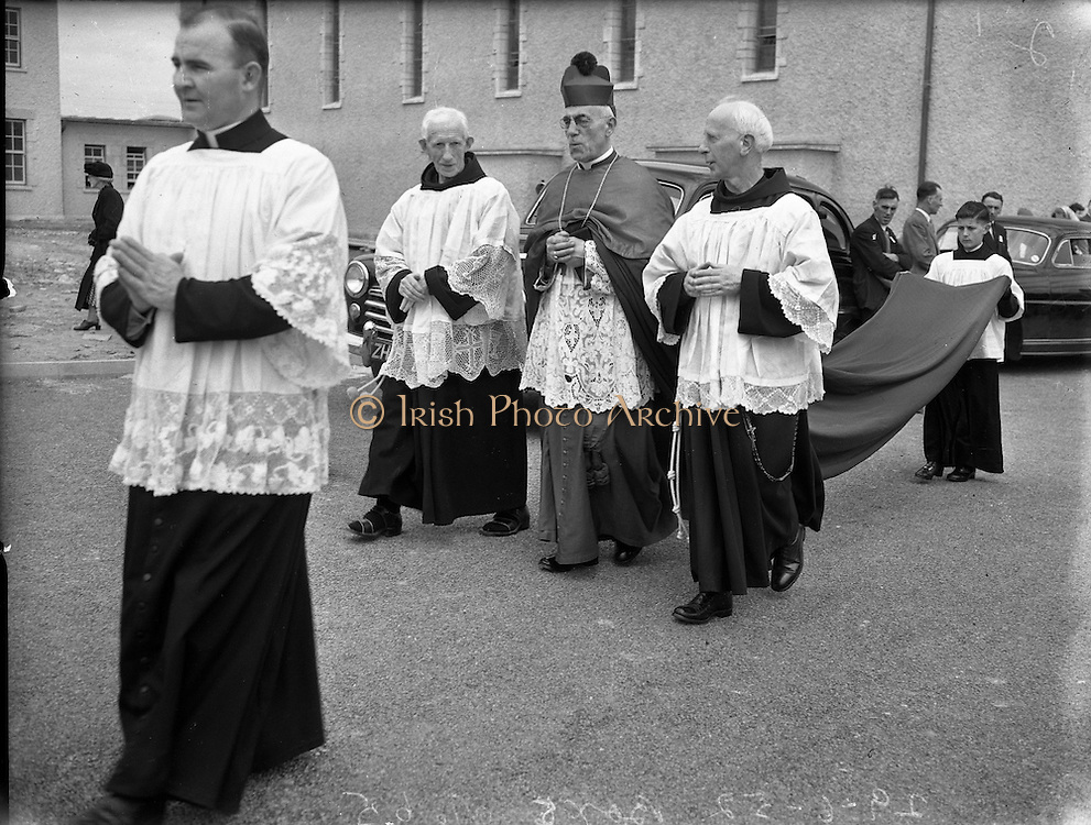 Dedication of New Franciscan Church at Rossnowlagh, Co. Donegal..29/06/1952