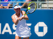 Aliaksandra Sasnovich of Belarus in action during the second round at the 2018 US Open Grand Slam tennis tournament, at Billie Jean King National Tennis Center in Flushing Meadow, New York, USA, August 30th 2018, Photo Rob Prange / SpainProSportsImages / DPPI / ProSportsImages / DPPI