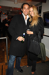 MAX DELLA TORRE and BEATRICE MARTIN at a party to celebrate the launch of the new Fiat 500 car held at the London Eye, Westminster Bridge Road, London on 21st January 2008.<br /><br />NON EXCLUSIVE - WORLD RIGHTS (EMBARGOED FOR PUBLICATION IN UK MAGAZINES UNTIL 1 MONTH AFTER CREATE DATE AND TIME) www.donfeatures.com  +44 (0) 7092 235465