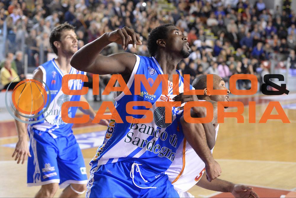 DESCRIZIONE : Campionato 2013/14 Acea Virtus Roma - Dinamo Banco di Sardegna Sassari<br /> GIOCATORE : Omar Thomas<br /> CATEGORIA : Rimbalzo<br /> SQUADRA : Dinamo Banco di Sardegna Sassari<br /> EVENTO : LegaBasket Serie A Beko 2013/2014<br /> GARA : Acea Virtus Roma - Dinamo Banco di Sardegna Sassari<br /> DATA : 26/12/2013<br /> SPORT : Pallacanestro <br /> AUTORE : Agenzia Ciamillo-Castoria / GiulioCiamillo<br /> Galleria : LegaBasket Serie A Beko 2013/2014<br /> Fotonotizia : Campionato 2013/14 Acea Virtus Roma - Dinamo Banco di Sardegna Sassari<br /> Predefinita :