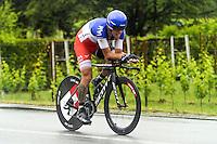 Sylvain Chavanel - Iam - 23.05.2015 - Tour d'Italie - Etape 14 : Treviso - Valdobbiadene<br /> Photo : Sirotti / Icon Sport