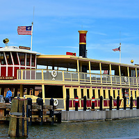 Richard F. Irvine Ferry Boat at Magic Kingdom in Orlando, Florida<br />