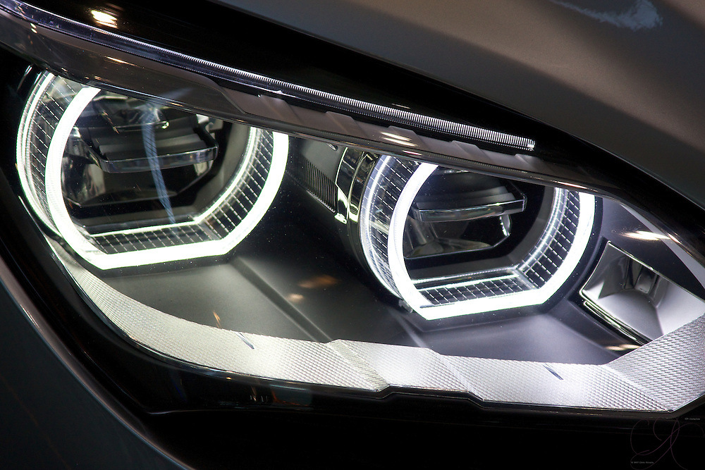 To think, there was a time in car design where headlights were simply large round disks of light