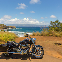 Maui on a Harley