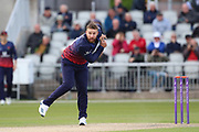 Lancashires Steven Croft during the Royal London 1 Day Cup match between Lancashire County Cricket Club and Derbyshire County Cricket Club at the Emirates, Old Trafford, Manchester, United Kingdom on 2 May 2019.