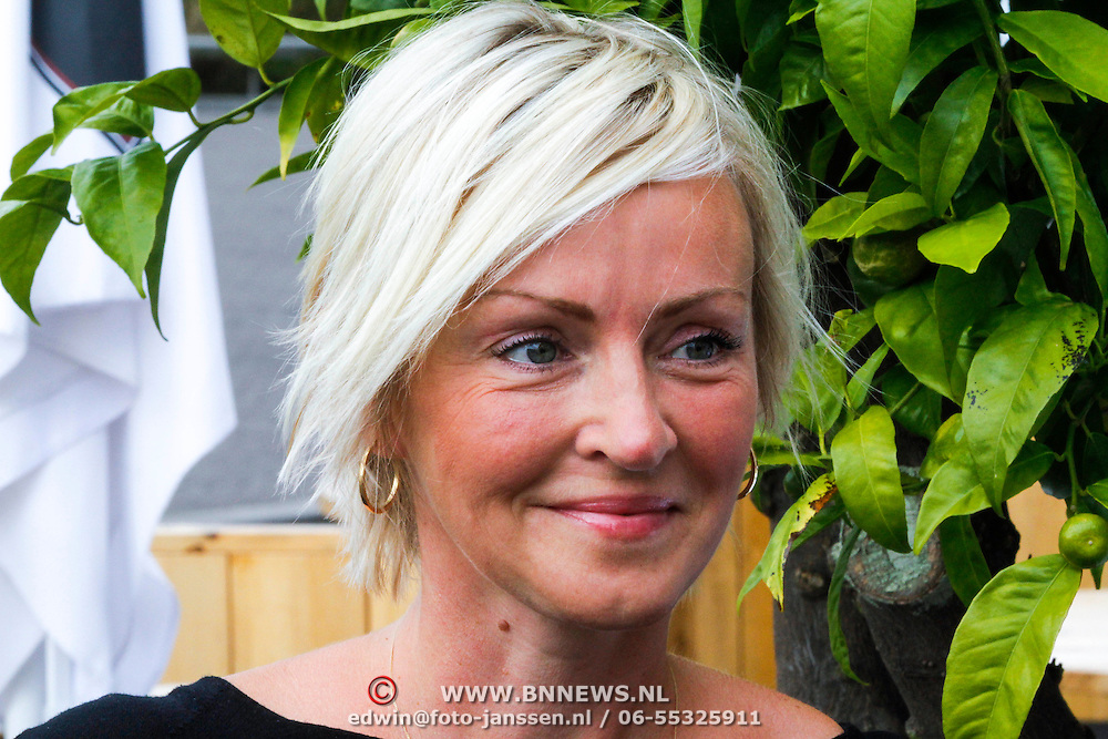 NLD/Amsterdam/20130912 - Talkies Terras Lunch 2013, Lone van Rozendaal