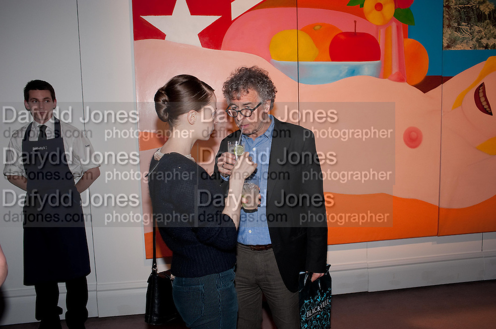 GWENDOLINE RILEY; ALLAN JENKINS, Can we Still Be Friends- by Alexandra Shulman.- Book launch. Sotheby's. London. 28 March 2012.