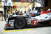 June 12-17, 2018: 24 hours of Le Mans. 7 Toyota Racing, Toyota TS050 Hybrid, Mike Conway, Kamui Kobayashi, Jose Maria Lopez