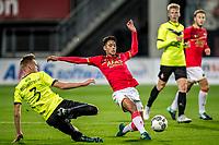 ALKMAAR - 12-09-2017, Jong AZ - Telstar, AFAS Stadion, 2-2, Jong AZ speler Tijan Reijnders