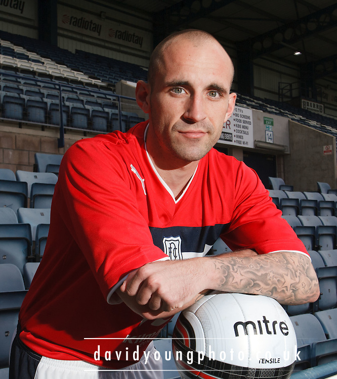 Dundee FC new boy Mark Stewart.. - © David Young - 5 Foundry Place - Monifieth - DD5 4BB - Telephone 07765 252616 - email: davidyoungphoto@gmail.com - web: www.davidyoungphoto.co.uk