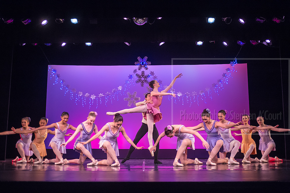 Wellington, NZ. 6.12.2015. Waltz of the Flowers, from the Wellington Dance & Performing Arts Academy end of year stage-show 2015. Senior School Show, Sunday 7.45pm. Photo credit: Stephen A'Court.  COPYRIGHT ©Stephen A'Court