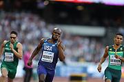 lashawn merritt, 400m, during the IAAF World Championships at the London Stadium, London, England on 6 August 2017. Photo by Myriam Cawston.