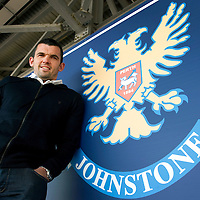 Callum Davidson pictured back at McDiarmid Park after re-signing for St Johnstone...Callum started his career with St Johnstone in 1994 before moving to Blackburn Rovers in 1998 for £1.75m....26.05.11<br /> see story by Gordon Bannerman Tel: 07729 865788<br /> Picture by Graeme Hart.<br /> Copyright Perthshire Picture Agency<br /> Tel: 01738 623350  Mobile: 07990 594431