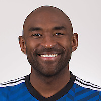 Feb 16, 2015; San Jose Earthquakes player Marvell Wynne poses for a photo.