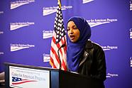 Representative IIhan Omar Speaks at CAP