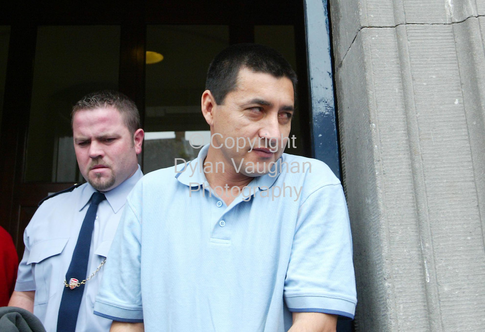 13/7/2004.Pictured at Kilkenny court yesterday was Juan Carlos Melgar Alba on cocaine related charges..Picture Dylan Vaughan