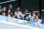 MELBOURNE, VIC - MARCH 03: Melbourne City defender Bart Schenkeveld (5) and Melbourne City defender Ritchie de Laet (2) are seen in the stands at the round 21 Hyundai A-League soccer match between Melbourne City FC and Perth Glory on March 03, 2019 at AAMI Park, VIC. (Photo by Speed Media/Icon Sportswire)