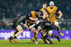 Ben Glynn of Bristol Rugby - Rogan Thomson/JMP - 16/12/2016 - RUGBY UNION - Stade du Hameau - Pau, France - Pau v Bristol Rugby - EPCR Challenge Cup.