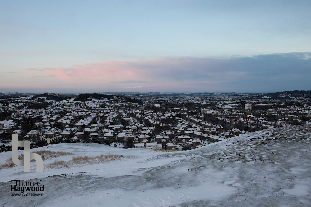 Edinburgh Sunrise Snow