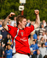 Photo: Paul Greenwood.<br /> Accrington Stanley v Macclesfield Town. Coca Cola League 2. 28/04/2007.