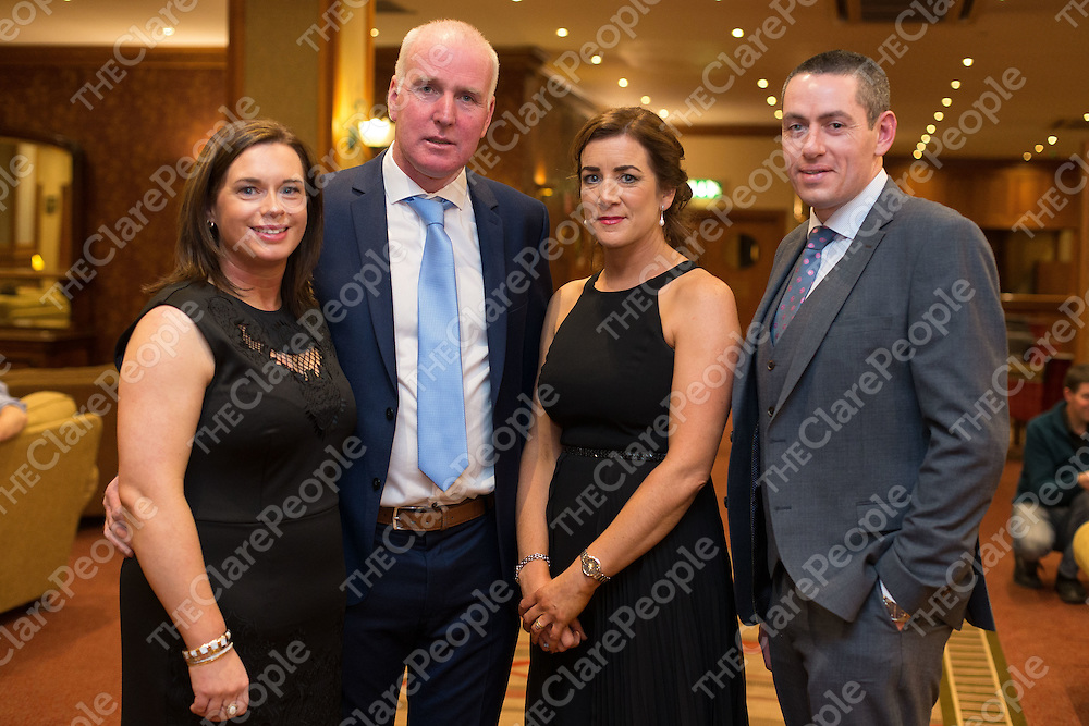 Deirdre and Joe Meskill with Carmel and Fergal Hegarty