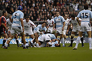 Twickenham. GREAT BRITAIN, Puma's half back pairing left, Agustin PICHOT and Felipe CONTOPMI, during the, 2006 Investec Challenge, game between, England  and Argentina, on Sat., 11/11/2006, played at the Twickenham Stadium, England. Photo, Peter Spurrier/Intersport-images].....
