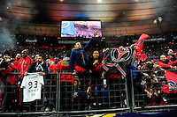 Supporters PSG    - 11.04.2015 -  Bastia / PSG - Finale de la Coupe de la Ligue 2015<br />