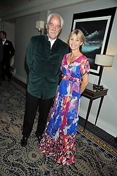 MARK LUCAS and KATE MOSSE at the Matterhorn Challenge Ball in aid of Combat Stress as part of their 90th anniversary celebrations held at The Berkeley Hotel, London on 11th June 2009.