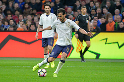 March 28, 2017 - Amsterdam, Netherlands - Marco Parolo from Italy during the friendly match between Netherlands and Italy on March 28, 2017 at the Amsterdam ArenA in Amsterdam, Netherlands. (Credit Image: © Andy Astfalck/NurPhoto via ZUMA Press)