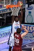 DESCRIZIONE : CANTU 25/07/2015<br /> Lega A 2014-15 Vitasnella Cantù Umana Venezia<br /> GIOCATORE : Abass Awudu<br /> CATEGORIA : Low Schiacciata<br /> SQUADRA : Vitasnella Cant?<br /> EVENTO : Campionato Lega A 2014-2015<br /> GARA : Vitasnella Cantù Umana Venezia<br /> DATA : 25/05/2015<br /> SPORT : Pallacanestro<br /> AUTORE : Agenzia Ciamillo-Castoria/RichardMorgano<br /> Galleria : Lega Basket A 2014-2015 <br /> Fotonotizia: Cucciago Lega A 2014-15 Vitasnella Cantù Umana Venezia