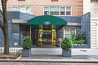 Entrance at 130 East 63rd Street