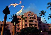 Sheraton Royal Hawaiian Hotel, Waikiki, Oahu, Hawaii