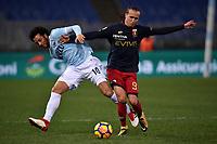 Felipe Anderson Lazio, Diego Laxalt Genoa <br /> Roma 05-02-2018 Stadio Olimpico Football Calcio Serie A 2017/2018 Lazio - Genoa . Foto Andrea Staccioli / Insidefoto