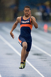 Virginia Cavaliers Brian Lee won his heat to finish 5th in the men's 200m dash.  The Virginia Cavaliers Track and Field team hosted the 2007 Lou Onesty/Milton G. Abramson Invitation at Lannigan Field at the University of Virginia on April 14, 2007.