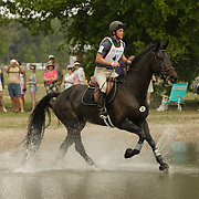 Noel Clark (CAN) and Jack of Hearts at the 2006 Florida CCI in Ocala, Florida, USA