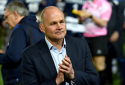 Bristol Rugby Director of Rugby Andy Robinson applauds the Bristol Rugby fans - Mandatory byline: Joe Meredith/JMP - 25/05/2016 - RUGBY UNION - Ashton Gate Stadium - Bristol, England - Bristol Rugby v Doncaster Knights - Greene King IPA Championship Play Off FINAL 2nd Leg.