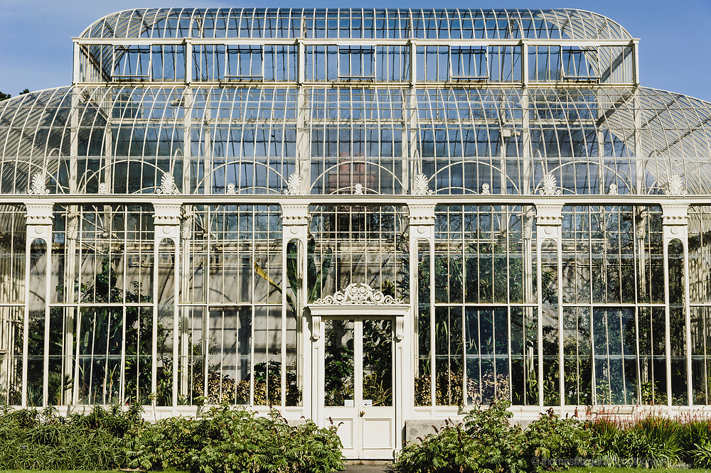 Details of the Ornate Greenhouses at the Botanic Gardens, Dublin
