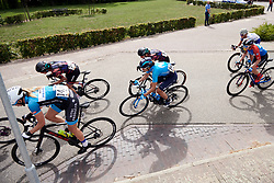 Sheyla Gutierrez Ruiz (ESP) in the bunch at Boels Ladies Tour 2019 - Stage 1, a 123 km road race from Stramproy to Weert, Netherlands on September 4, 2019. Photo by Sean Robinson/velofocus.com