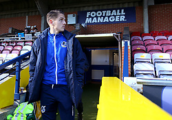 Tom Nichols of Bristol Rovers arrives at The Cherry Red Records Stadium, for the game against AFC Wimbledon - Mandatory by-line: Robbie Stephenson/JMP - 17/02/2018 - FOOTBALL - Cherry Red Records Stadium - Kingston upon Thames, England - AFC Wimbledon v Bristol Rovers - Sky Bet League One