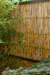 Bamboo fence panel. Design: Paul Kelly
