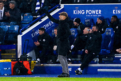 Manchester City manager Pep Guardiola - Mandatory by-line: Robbie Stephenson/JMP - 18/12/2018 - FOOTBALL - King Power Stadium - Leicester, England - Leicester City v Manchester City - Carabao Cup Quarter Finals