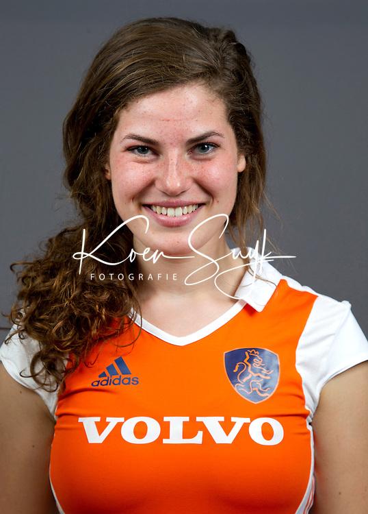 UTRECHT - Maxime Kerstholt, Nederlands Meisjes B. Foto Koen Suyk
