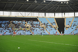 Ricoh arena looks sparse in the home stands  - Photo mandatory by-line: Joe Meredith/JMP - Mobile: 07966 386802 - 18/10/2014 - SPORT - Football - Coventry - Ricoh Arena - Bristol City v Coventry City - Sky Bet League One