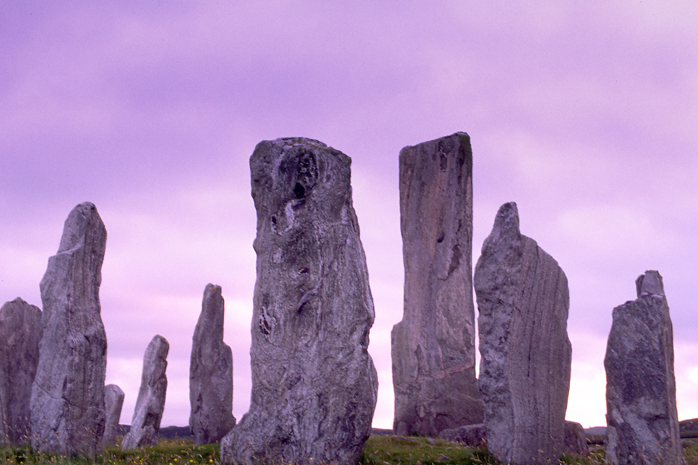 Standing Stones at Callanish on the Isle of Lewis